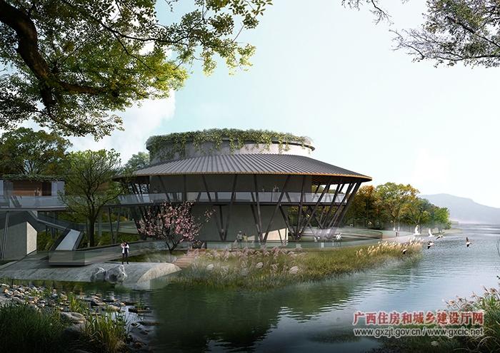 南宁国际园博园建设项目完成工程总形象进度82.9%