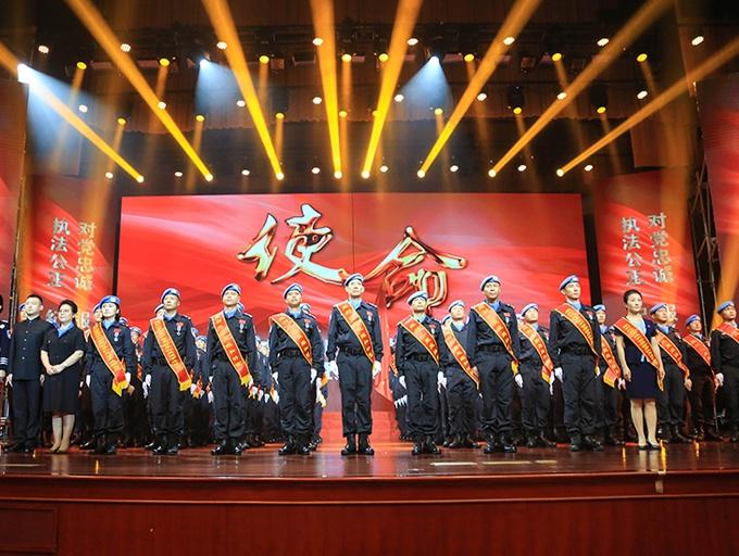 中国第五支赴利比里亚维和警察防暴队表彰大会举行