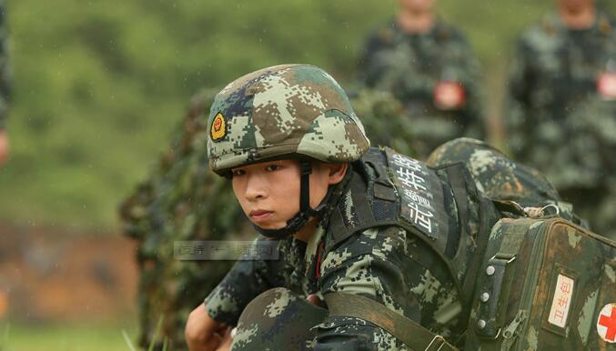 刺激!直击武警广西总队后勤岗位练兵比武竞赛现场