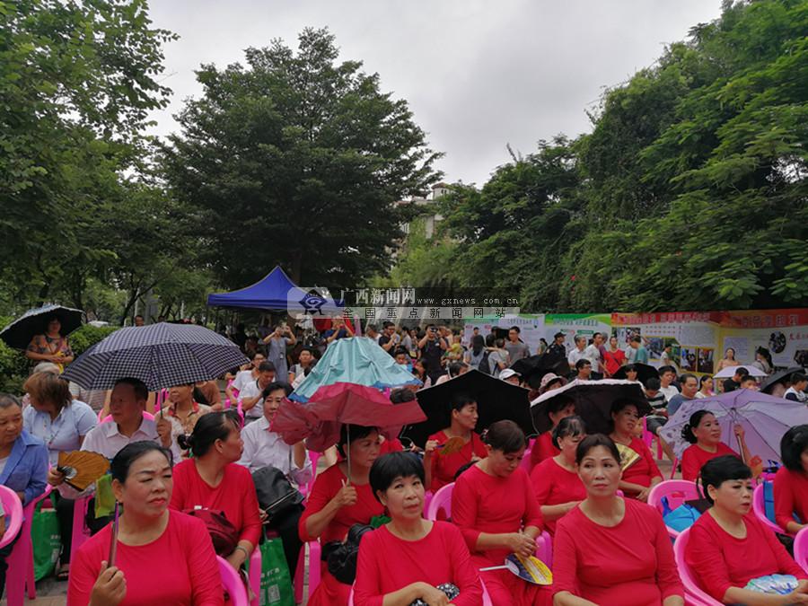 """图集:广西举行第八个""""世界肝炎日""""宣教活动"""
