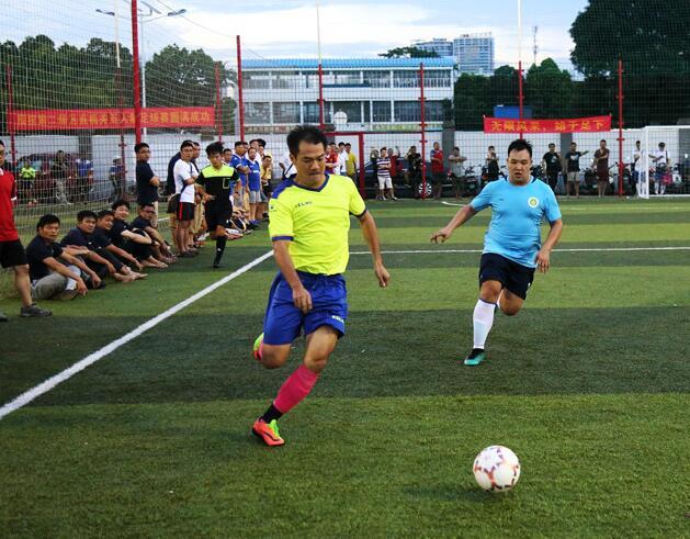 赛期跨5个月!第2届广西区直机关五人制足球赛开赛