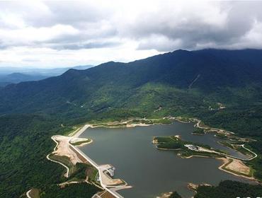 海南首个抽水蓄能电站