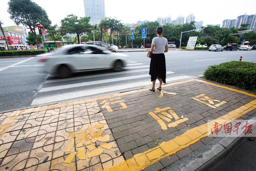 """8月8日焦点图:南宁首条""""智能斑马线""""启用"""