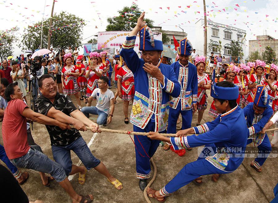 象州木屯:文化节喜迎八方客