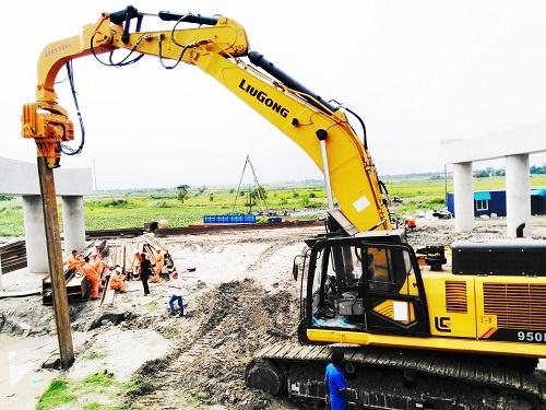 柳工印度公司导入中大型挖掘机等多项新产品