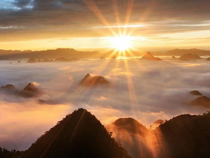 高清:坐看云卷云舒 广西这些地方云海美如梦境