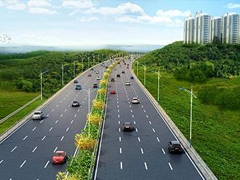 """9月1日焦点图:柳南高速""""高改快""""主体建设完工"""