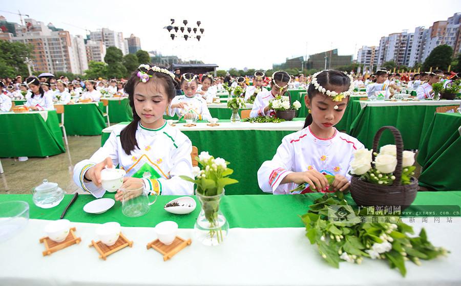 [壮乡六十载南宁行]中国(横县)茉莉花文化节开幕
