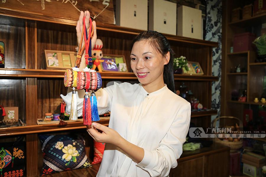 【壮乡六十载南宁行】探访横县成品茶市场