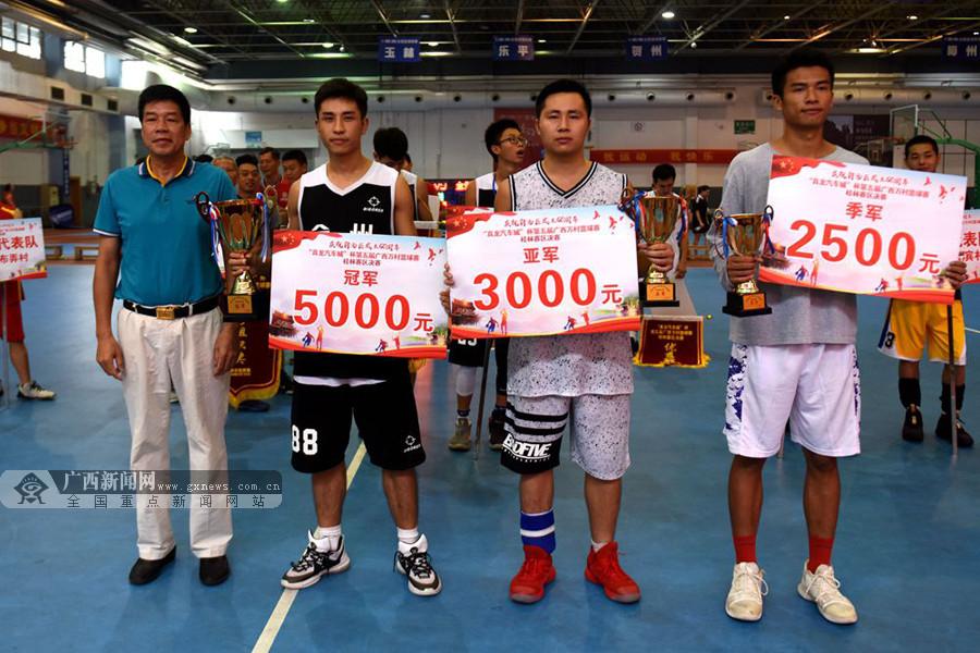 第五届广西万村篮球赛桂林赛区:全州北门社区夺冠