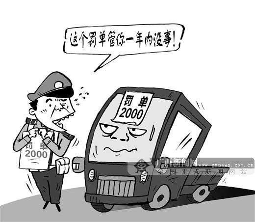 """画中话:罚单""""年票制"""""""