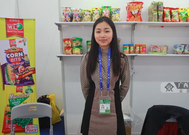 菲律宾馆:玉米粉受到热捧