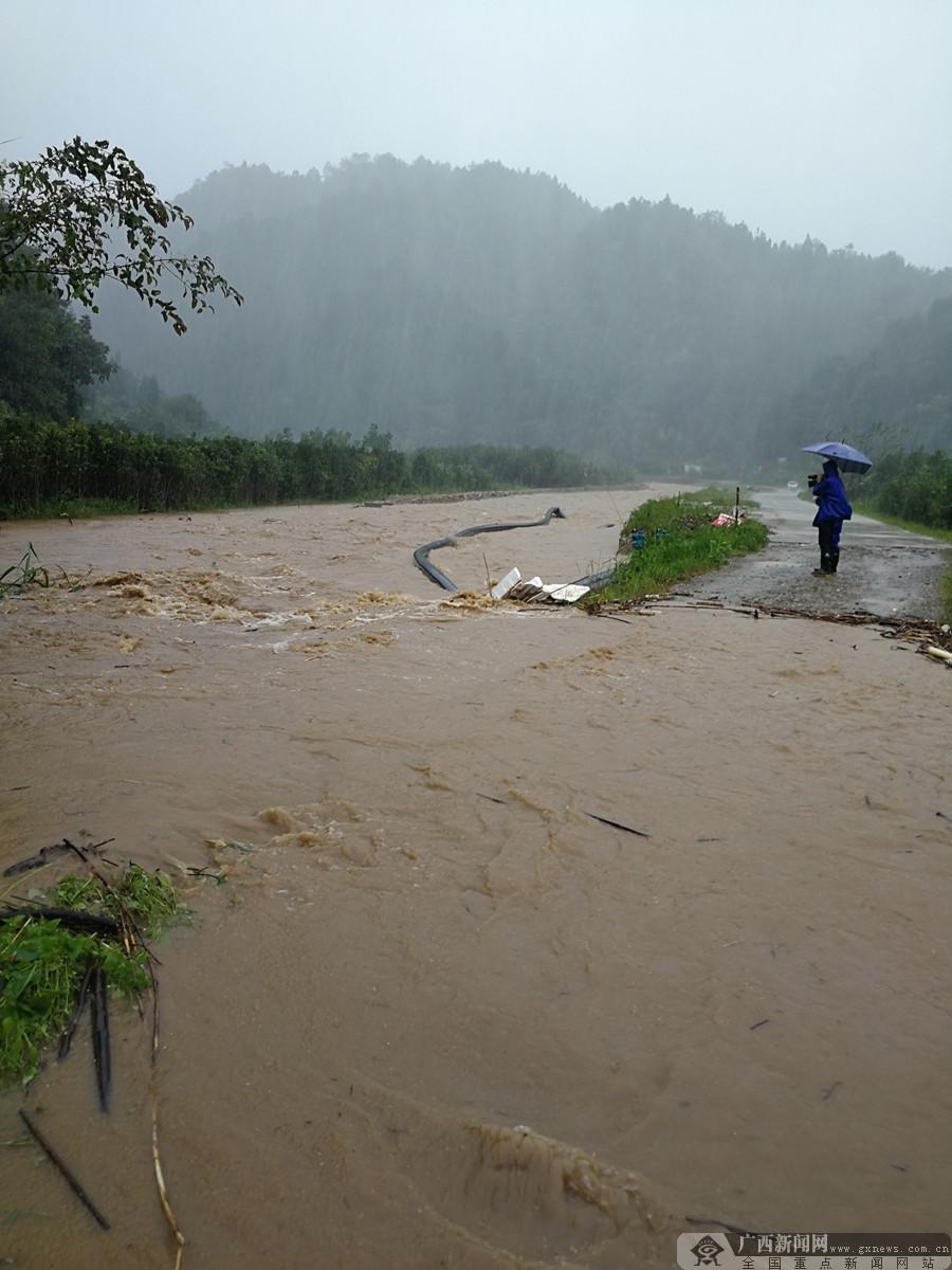 """台风""""山竹""""来袭 金秀部分乡镇受灾严重"""