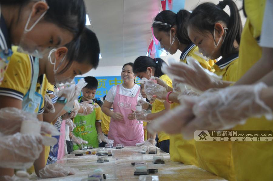 高清组图:南宁市星湖小学举行中秋主题系列活动
