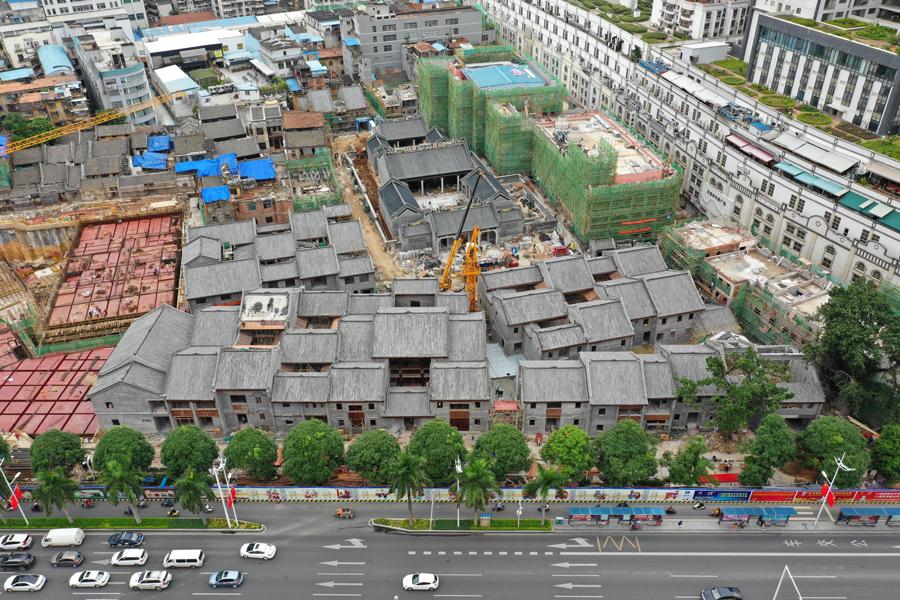 """9月29日焦点图:南宁""""三街两巷""""预计年底前开街"""