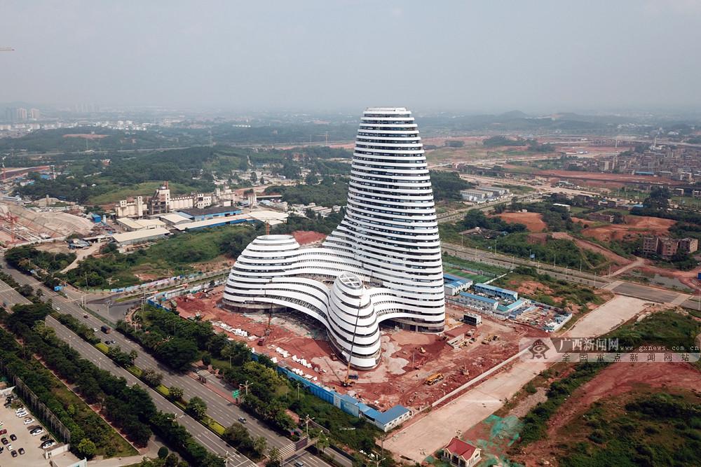 高清:广西新媒体中心竣工 海量航拍图带你看个够