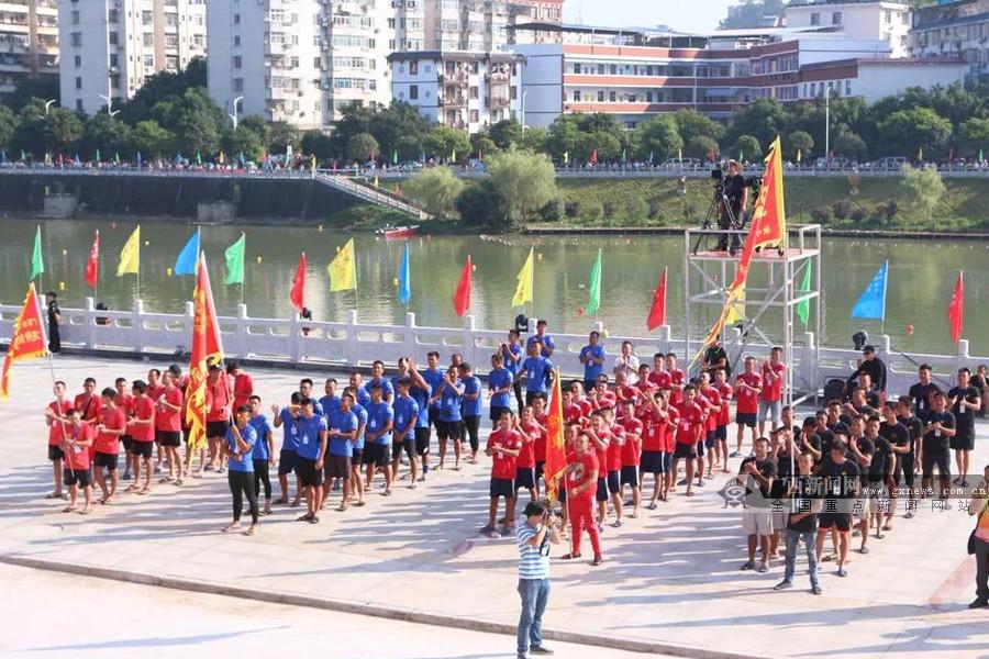 庆祝自治区成立60周年 2018广西龙舟系列赛收官