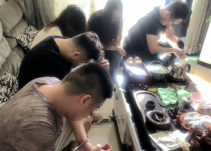 南宁突查传销窝点抓获96人 涉案资金超2亿元(图)