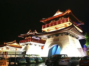 饱览优美八桂山水 贺州市园博园民族味儿十足(图)