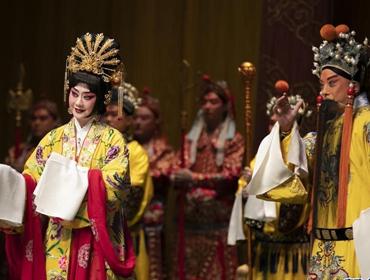 中国国家京剧院英国上演《太真外传》