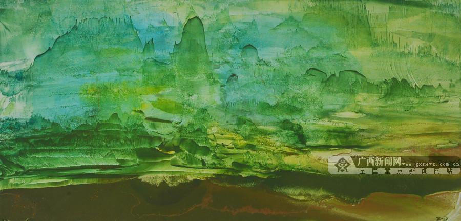 意象中的自然之壮美 ——赏徐子平意垒画偶得