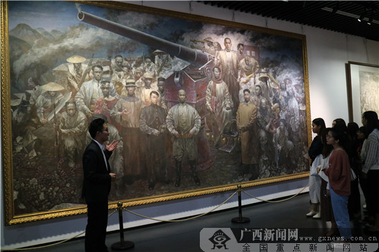 近4万人次参观广西近现代重大历史题材美术作品展