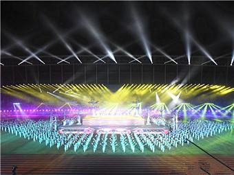 广西第十四届少数民族传统体育运动会在崇左开幕