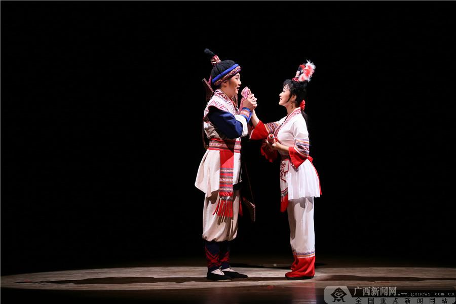 广西优秀剧目展演在北京上演