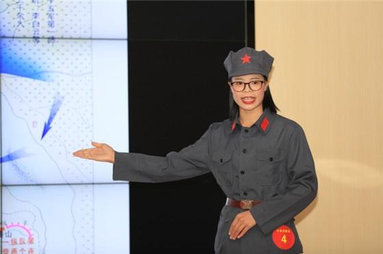 专业讲解员组优秀奖选手梁雪萍