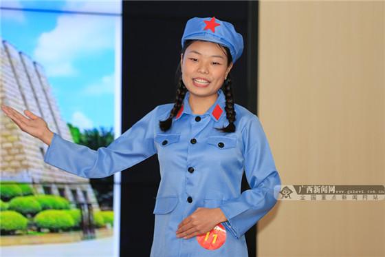 志愿讲解员组优秀奖选手王杨