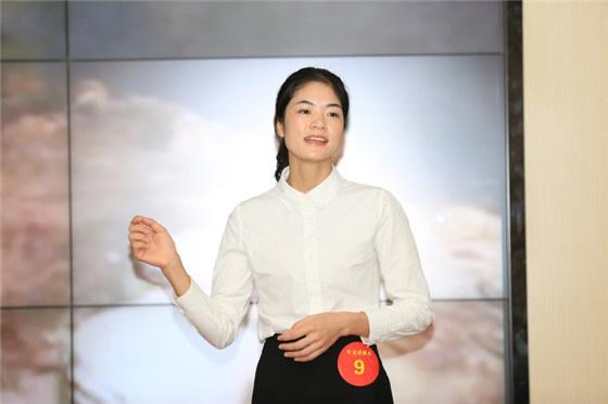 专业讲解员组优秀奖选手梁明凤