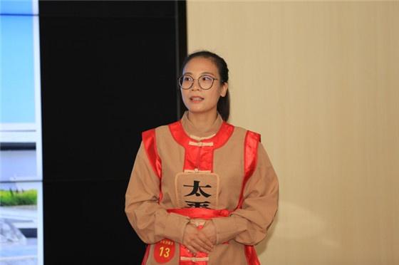 专业讲解员组优秀奖选手石才霞