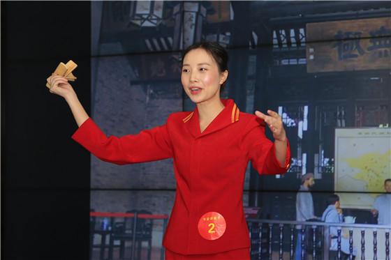 专业讲解员组二等奖选手陆燕妮