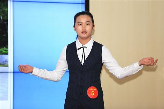志愿讲解员组优秀奖选手周结惠