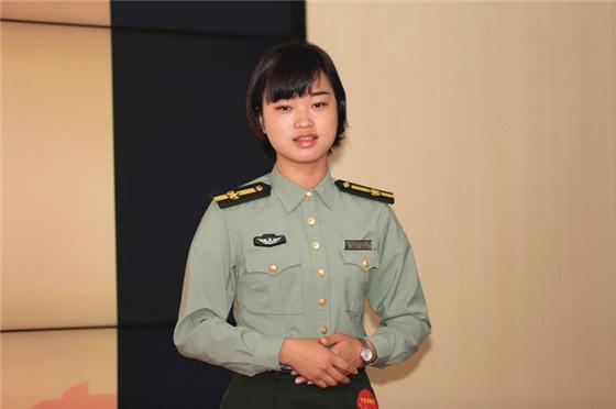 专业讲解员组优秀奖选手蒋秋荣