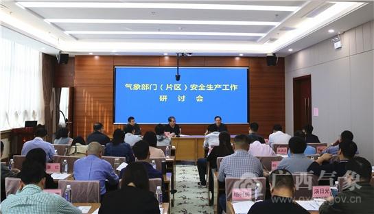 气象部门(片区)安全生产工作研讨会在南宁召开