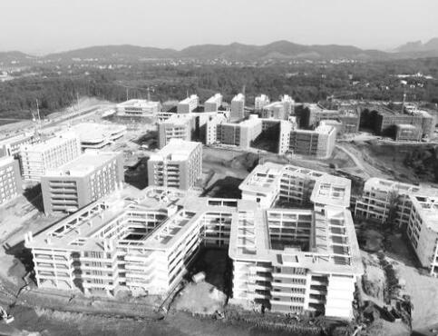 极速大发时时彩医科大玉林校区项目一期建设完工在即(组图)