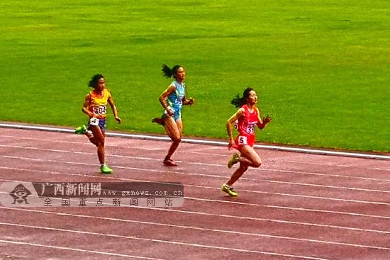 2018全国体校U系列田径锦标赛:广西体?;?银1铜