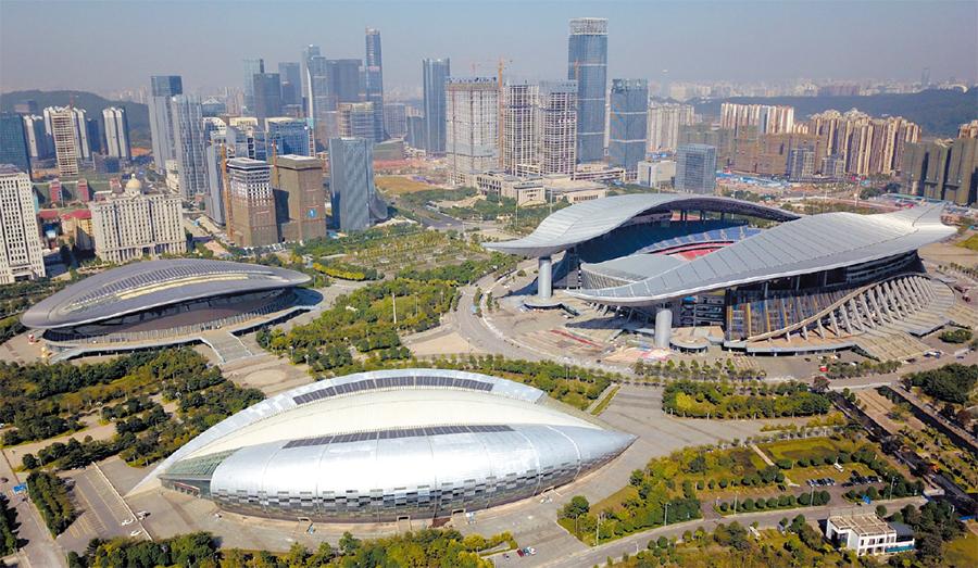 南宁五象新区城市品质提升 500强企业争相入驻(图)
