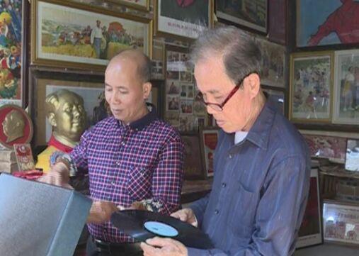 容县花甲老人打造收藏馆 万件收藏品记录时代变迁
