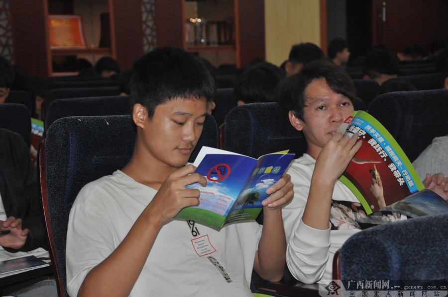 健康素养知识专题讲座走进广西中医学校