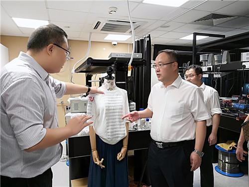 广西科技代表团与新加坡创新机构交流探讨合作