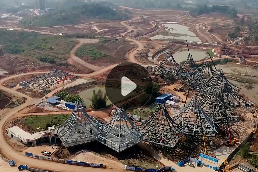 第十二届中国(南宁)园博会广西园正式开工建设