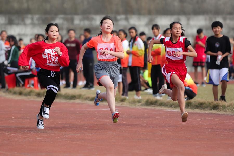 柳城县中小学生田径运动会精彩纷呈(图)