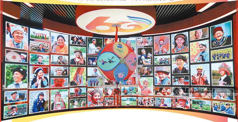 探寻壮美广西――广西壮族自治区成立60周年成就展剪影