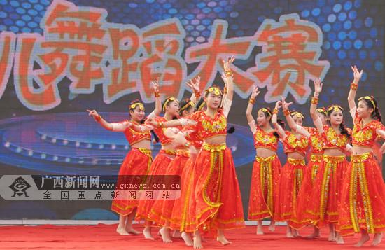20个节目参加角逐 田阳举办少儿舞蹈赛精彩纷呈