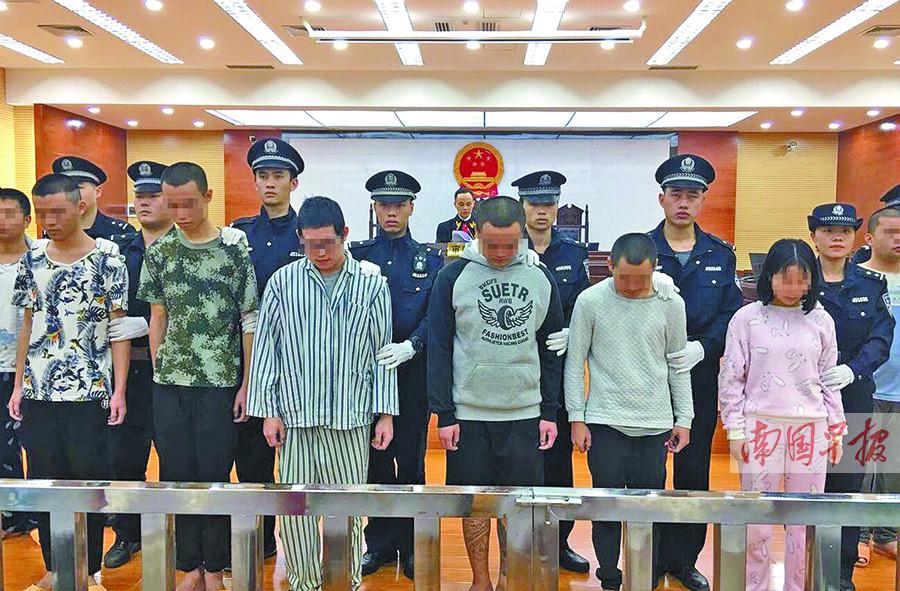 """12月22日焦点图:南宁""""2・25永和桥""""聚众斗殴案宣判"""