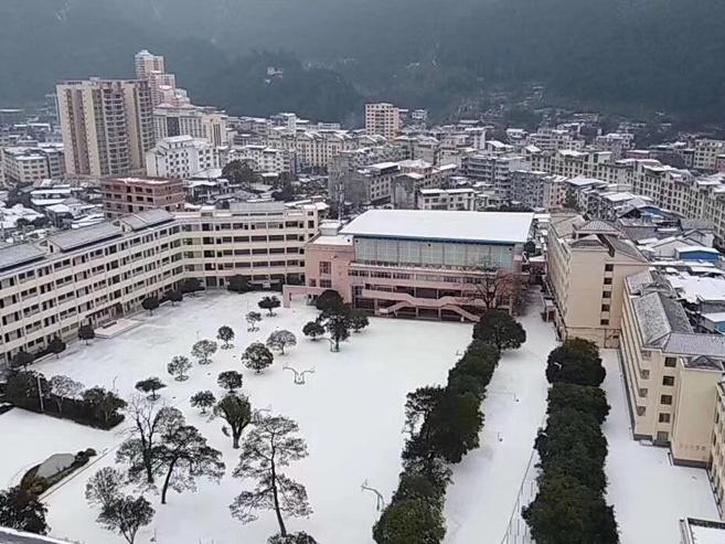 12月31日焦点图:广西24个市县区出现雨夹雪或小雪
