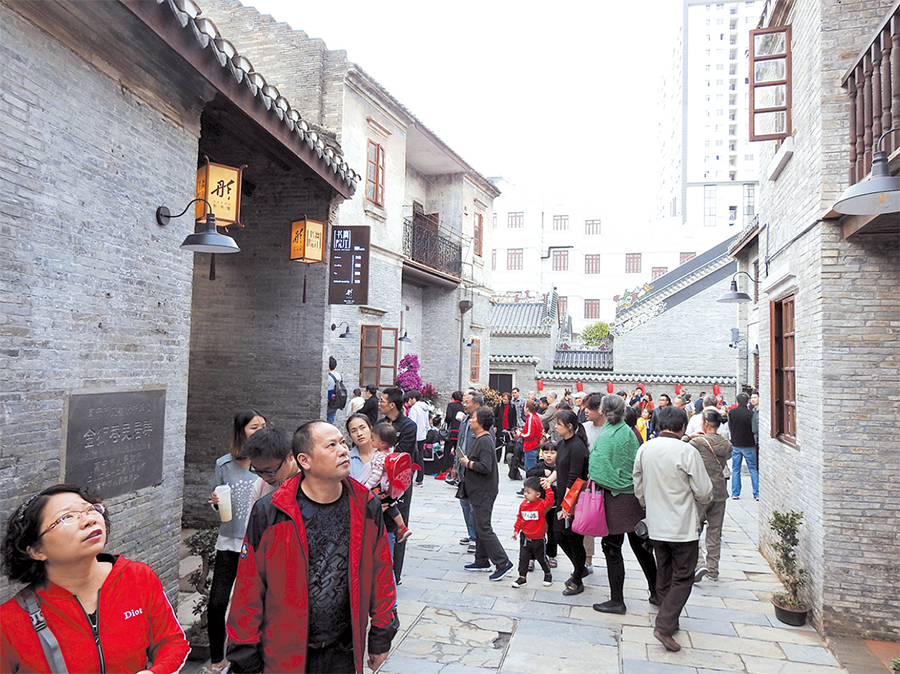 高清:听,百年老街光阴故事 探,文化保护全新面貌
