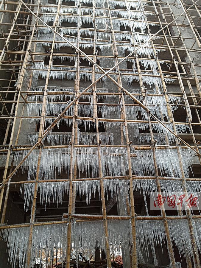1月2日焦点图:广西加强应对雨雪冰冻灾害